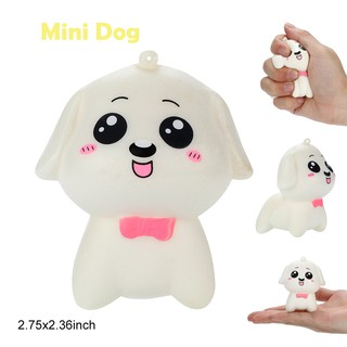 Stress Reliever Scented Super Slow Rising Kids Toy Cute Squeeze Toys Mini Dog