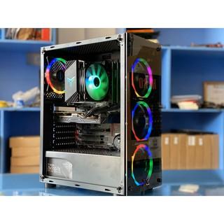 Vỏ cây máy tính XIGMATEK HERO NO FAN (EN45136) - ATX, 2 SIDE TEMPERED GLASS thumbnail