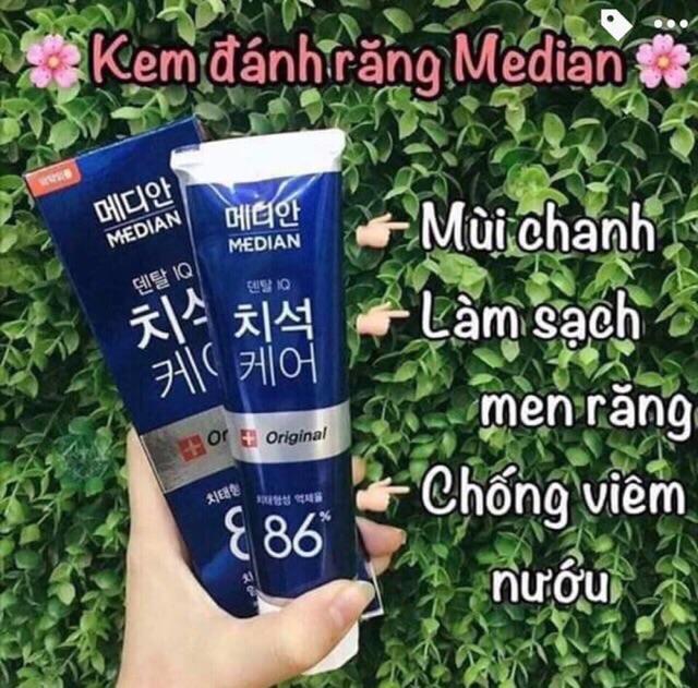 Kem Đánh Răng Median 93% Tooth-paste Hàn Quốc