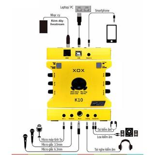SOUNDCARD XOX K10 (10th) Jubilee - Phiên Bản Giới Hạn Kỷ Niệm 10 Năm XOX - K10 2020 Phiên Bản Quốc Tế ( Ảnh Thật ) thumbnail