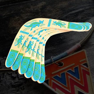 💗Sunei💗Kangaroo Throwback V Shaped Boomerang Flying Disc Throw Catch Outdoor Game
