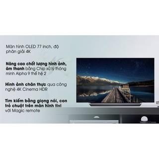 Smart tivi OLED LG 4K 77 inch 77C9PTA
