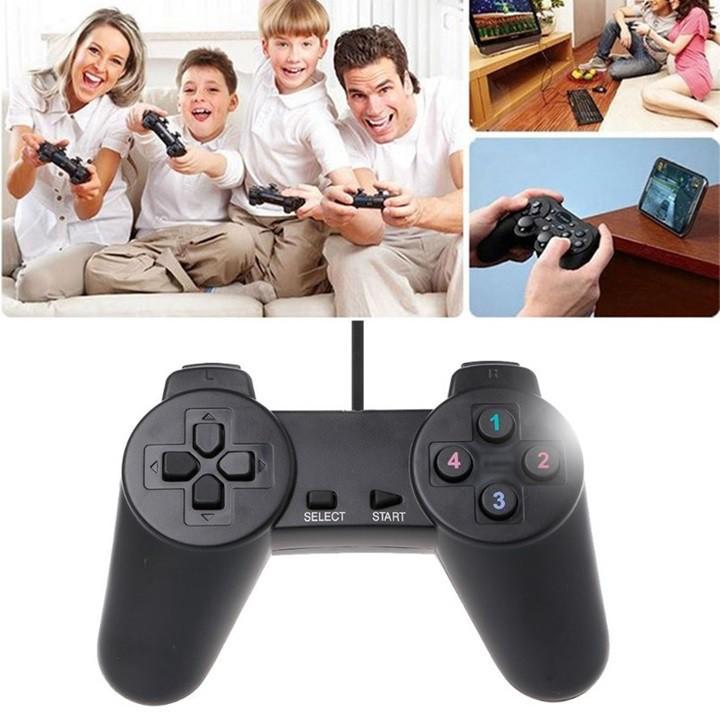 [HOT SALE] Tay Cầm Game Đôi Không Rung W-701D Cho Máy Tính Giá chỉ 137.750₫