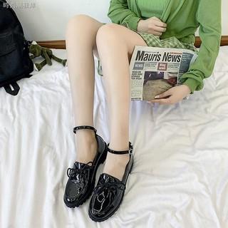 Giày Búp Bê Đế Dày Phong Cách Lolita Anh Quốc 2020