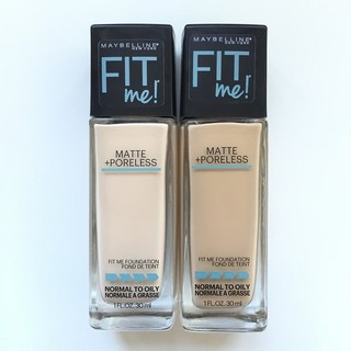 Kem nền Fit Me Matte Foundation (Made in Usa, 30ml)