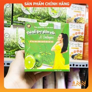 [Chính hãng] Detox Chanh Giảm Cân N Collagen - Detox N-Collagen - Trần Thị Bích Ngân thumbnail