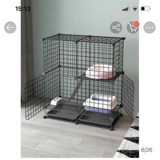 Lưới sắt làm chuồng thú cưng - Tặng chốt gắn thumbnail