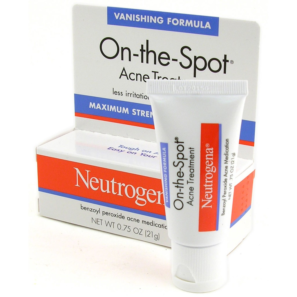 [ BÁN SỈ ]Kem Trị Mụn On-the-Spot Acne Treatment Neutrogena 21g - 3334664 , 732047106 , 322_732047106 , 165000 , -BAN-SI-Kem-Tri-Mun-On-the-Spot-Acne-Treatment-Neutrogena-21g-322_732047106 , shopee.vn , [ BÁN SỈ ]Kem Trị Mụn On-the-Spot Acne Treatment Neutrogena 21g