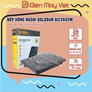 [Hàng Chính Hãng] Bếp hồng ngoại cảm ứng cao cấp Goldsun GIC3502M – Bảo hành 24 tháng