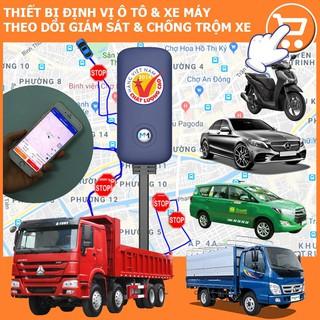 Định vị chống trộm xe máy, ôtô A6 – App Việt Nam, Chính hãng BH 1 năm