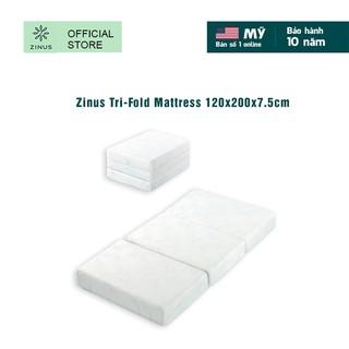 Nệm Gel Mát Gấp 3 Zinus Tri-Fold Mattress 120x200x7.5cm