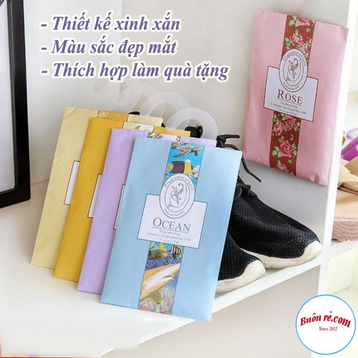 Combo 10 túi thơm hương hoa thảo mộc tinh dầu tự nhiên treo phòng tiện lợi an toàn -Buôn rẻ 00626