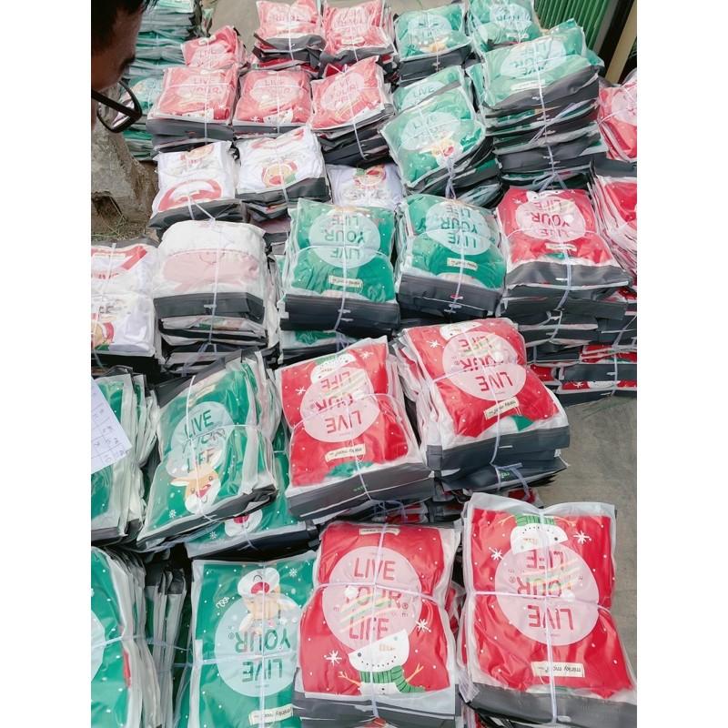 Sale !!! Bộ Dài Tay Noel Cho Bé Trai Bé Gái_Chất Cotton 100 %_Super Sale (SP001461 )