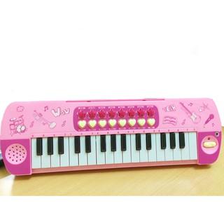 Đàn Organ cho bé có mic loại to đẹp Hồng WTIỆN LỢI