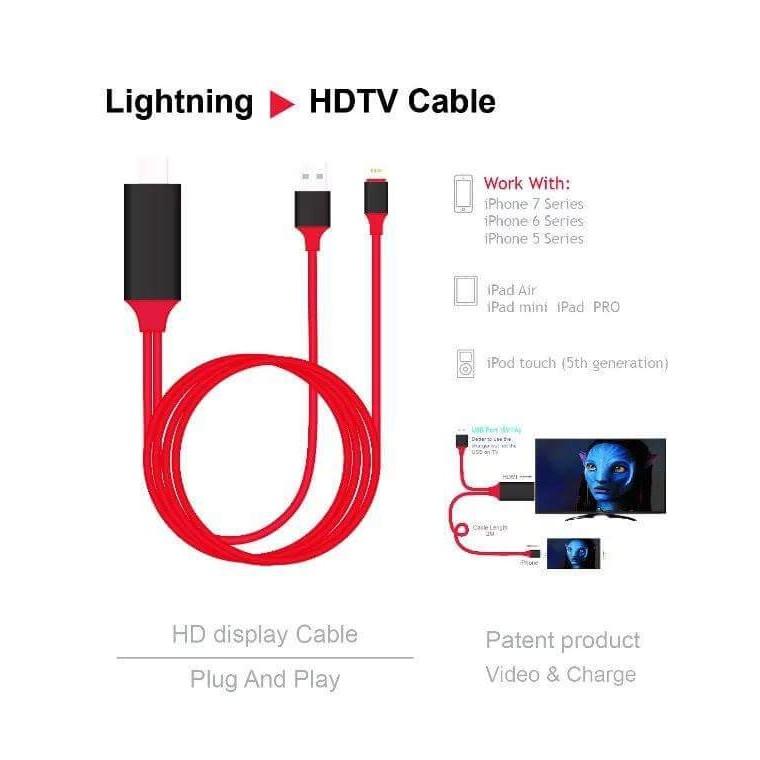 Cáp Chuyển iphone 5/6//7 sang HDMI (HDTV) - 3226069 , 383605717 , 322_383605717 , 229000 , Cap-Chuyen-iphone-5-6-7-sang-HDMI-HDTV-322_383605717 , shopee.vn , Cáp Chuyển iphone 5/6//7 sang HDMI (HDTV)