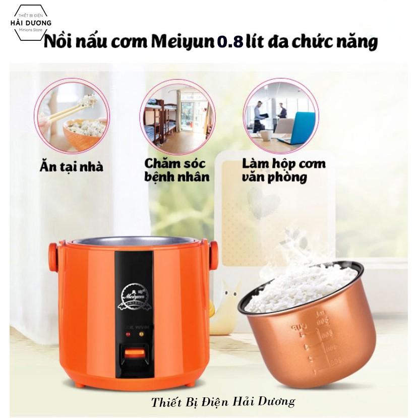 Nồi cơm điện mini Meiyun CFXB08-BF1 0.8 L 200W - Phù hợp cho 1 -2 người ăn