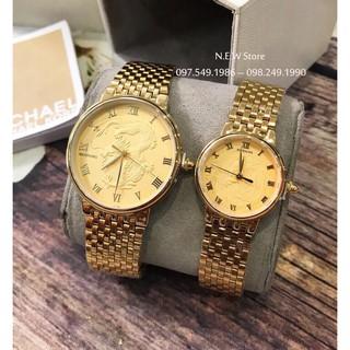 Đồng hồ cặp đôi Baishuns Long Phụng Full Gold son sắt tình duyên thumbnail