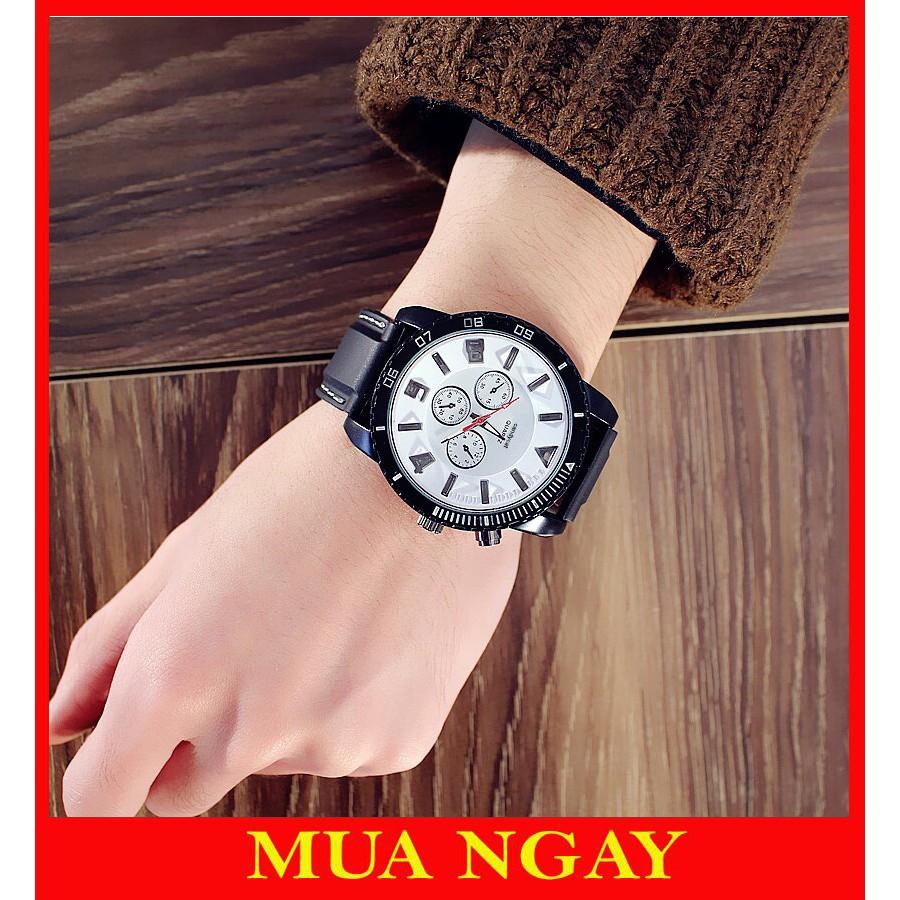 Đồng hồ nam phát sáng cá tính JIS DH66 siêu xinh