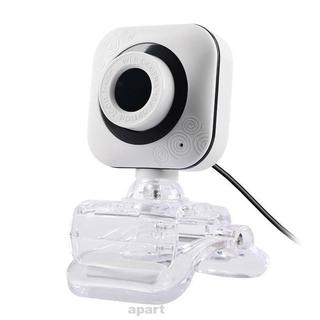 Webcam 480p 30fps Cổng Usb Có Thể Xoay Kèm Micro Tiện Dụng Cho Gia Đình / Văn Phòng