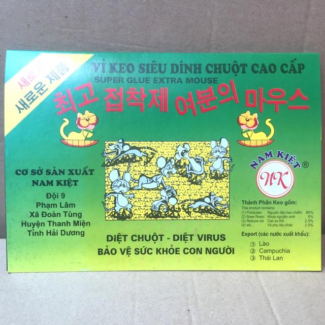 Sét 02 vỉ keo siêu dính chuột cao cấp Nam Kiệt