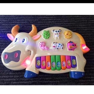 Đàn piano con bò cho bé chơi thông minh