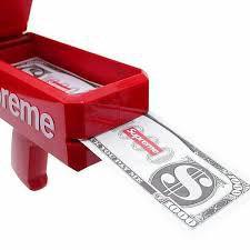 Trò Chơi súng bắn tiền tặng 1 xấp tiền giấy