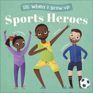Sách truyền cảm hứng Sports Heroes When I Grow Up - DK thumbnail