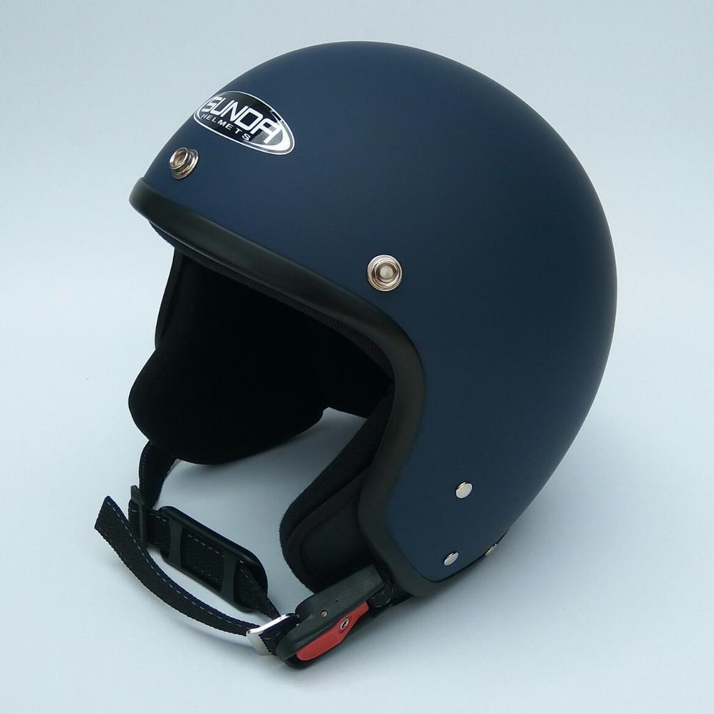 Mũ bảo hiểm 3/4 Sunda 102B - nhiều màu