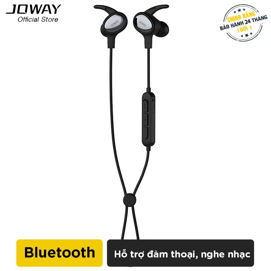Tai nghe Bluetooth thể thao JOWAY H18 hỗ trợ đàm thoại, nghe nhạc - Hãng phân phối chính thức