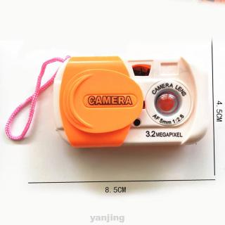 Educational Accessories Kid Gift Simulation Cartoon Camera