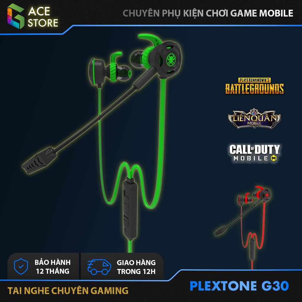 Plextone G30 | Tai Nghe Gaming Chống Ồn Có Mic Tháo Rời