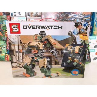 Bộ lắp ráp lego overwatch