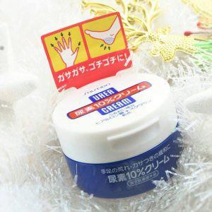 Kem chống nứt, nẻ gót chân tay Shisheido Urea cream [hàng nhật nội địa]