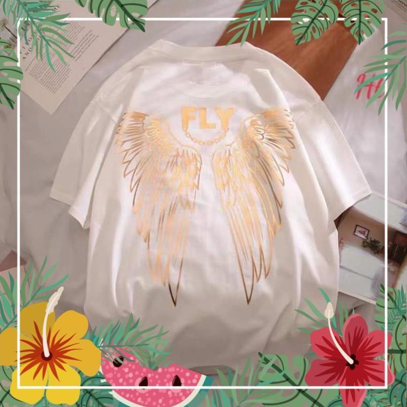 Áo đôi cánh FLY gương vàng in lưng H2U647 ATSHOP CHUYÊN SỈ LẺ THỜI TRANG