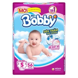 Tã dán bobby size S ( 56+8) size S (80+8) thumbnail