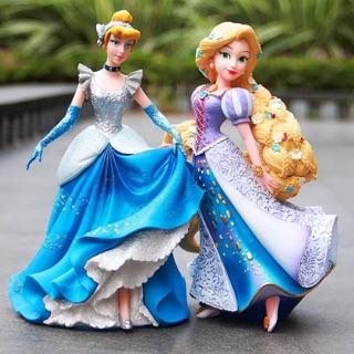 Công chúa Long Hair Tóc mây Cinderella mô hình đồ chơi