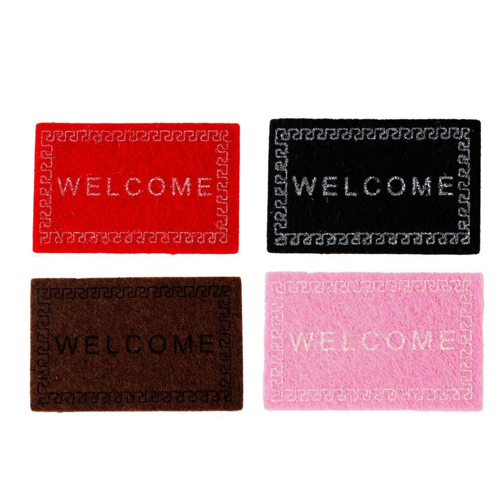 1:12 Scenery Model Doll House Accessories Welcome Carpet