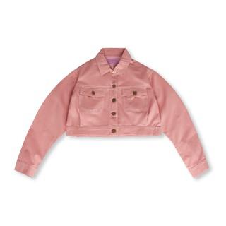 Usthebasic - Áo khoác Khaki Pocket Cropped Jacket thumbnail