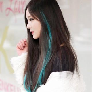 [ Sẵn kẹp chân tóc ] Line Tóc Light Giả Nhiều Màu Chất Như Nước Cất !