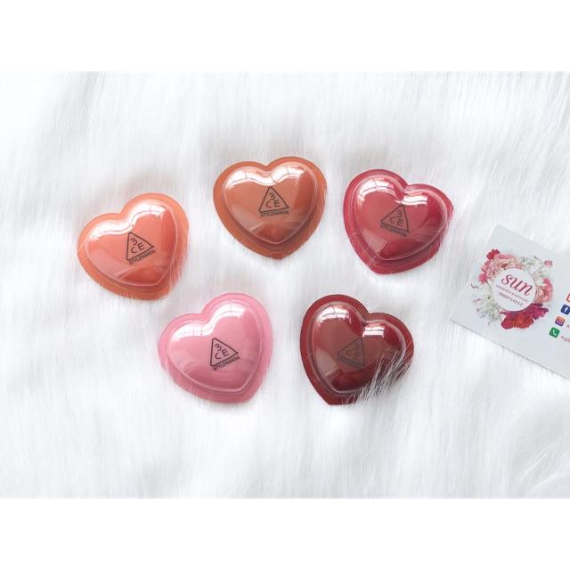 Son dưỡng 3CE Heart Pot Lip - 2733083 , 770268728 , 322_770268728 , 230000 , Son-duong-3CE-Heart-Pot-Lip-322_770268728 , shopee.vn , Son dưỡng 3CE Heart Pot Lip