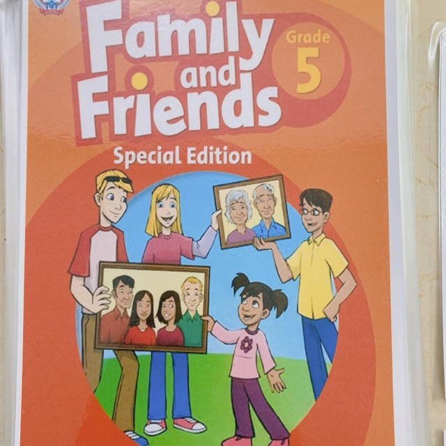 Flashcard FAMILY AND FRIENDS 5 (special edition)