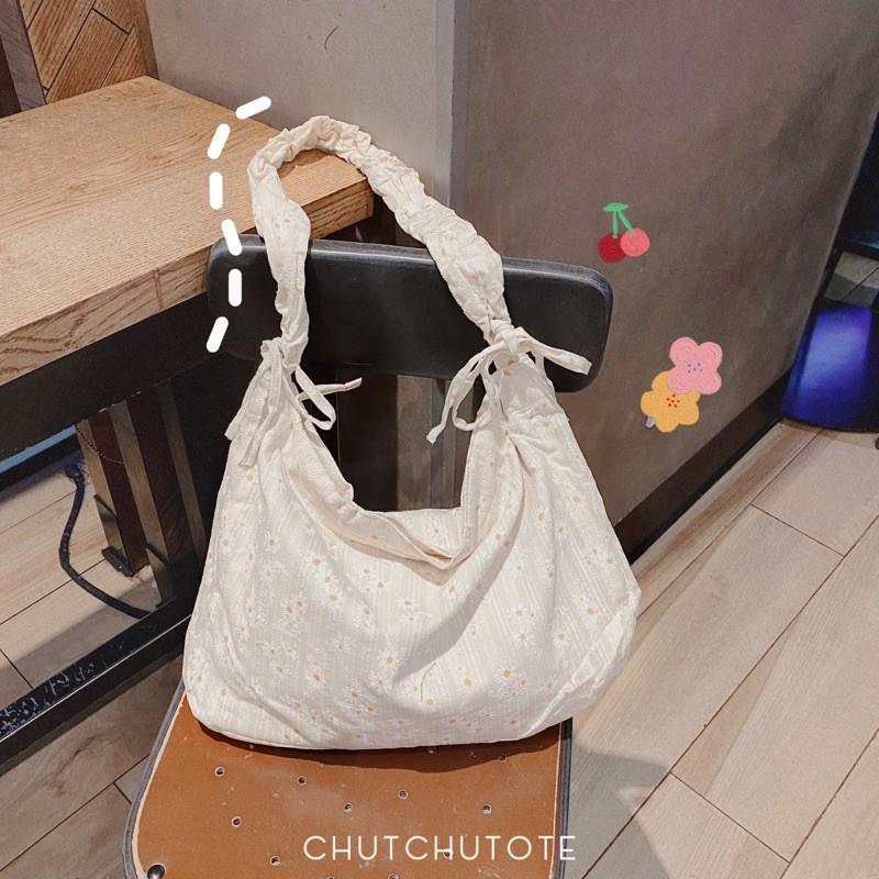 T170/Túi chéo hoa cúc siêu cute