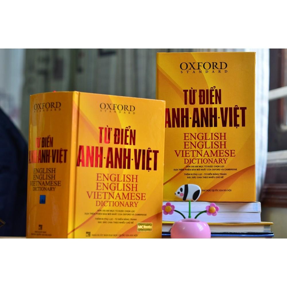 Sách - [Kèm quà tặng]Từ Điển Oxford Anh Anh Việt (Bìa Cứng Vàng) - 250k