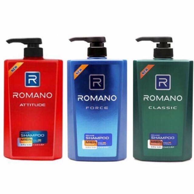 Dầu gội Romano (650g)