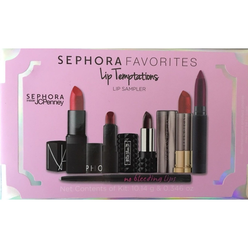 Set Sephora favorites Lip Temptations