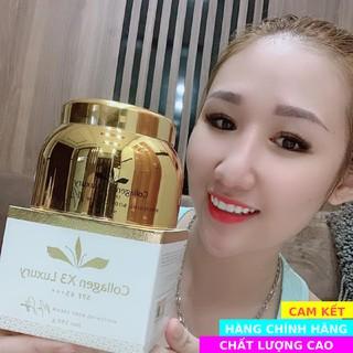 [CAM KẾT CHẤT LƯƠNG] – Kem body Collagen X3 Luxury kích trắng da chính hãng Mỹ Phẩm Đông Anh