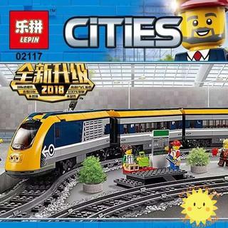 Lego 60197 TÀU LƯỢN CAO TỐC kết nối bluetooth Lepin 02117 NEW