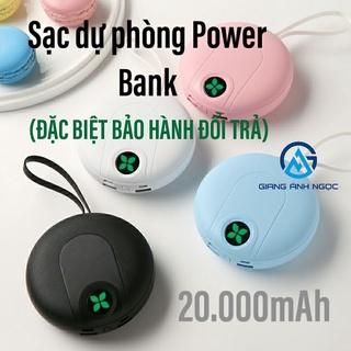 Sạc dự phòng Power Bank 20.000mAh pin dự phòng thời trang hot hit thumbnail