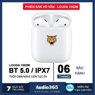 Tai nghe bluetooth TWS Air 2 bản Hổ Vằn Louda 1562M mới nhất, định vị, đổi tên, cảm biến hồng ngoại, nghe nhạc 5h