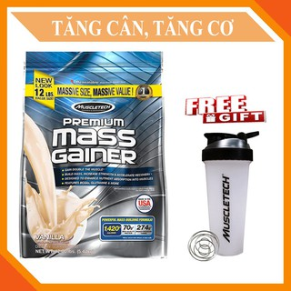 Sữa Tăng Cân Premium Mass Gainer 12lbs Vị Vanilla thumbnail